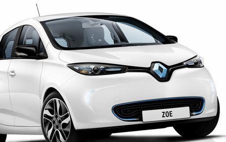 Smart, Peugeot et Zoe ...