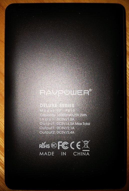 Le Ravpower RP-PB19 en images !