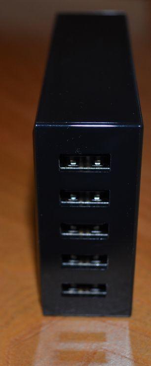 La station Aukey au travail...Tous les terminaux lui conviennent à condition qu'ils soient alimentés sous port USB (5 Volts )