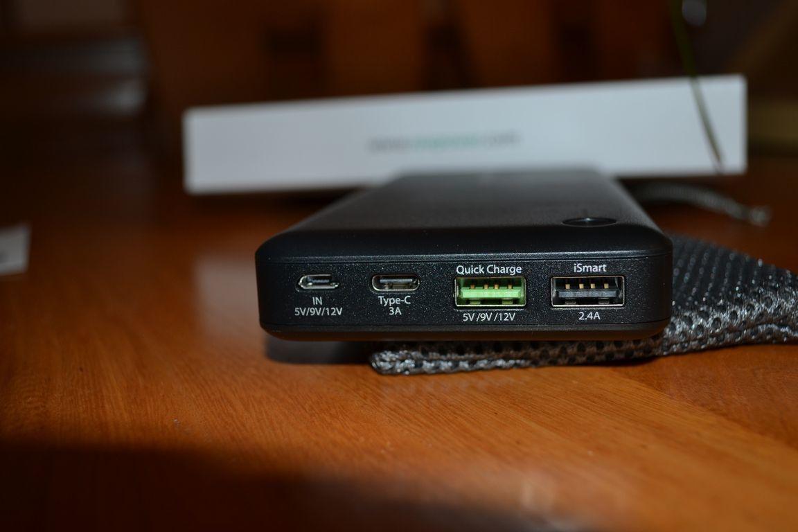 Batterie Externe RAVPOWER USB-C !   en images .