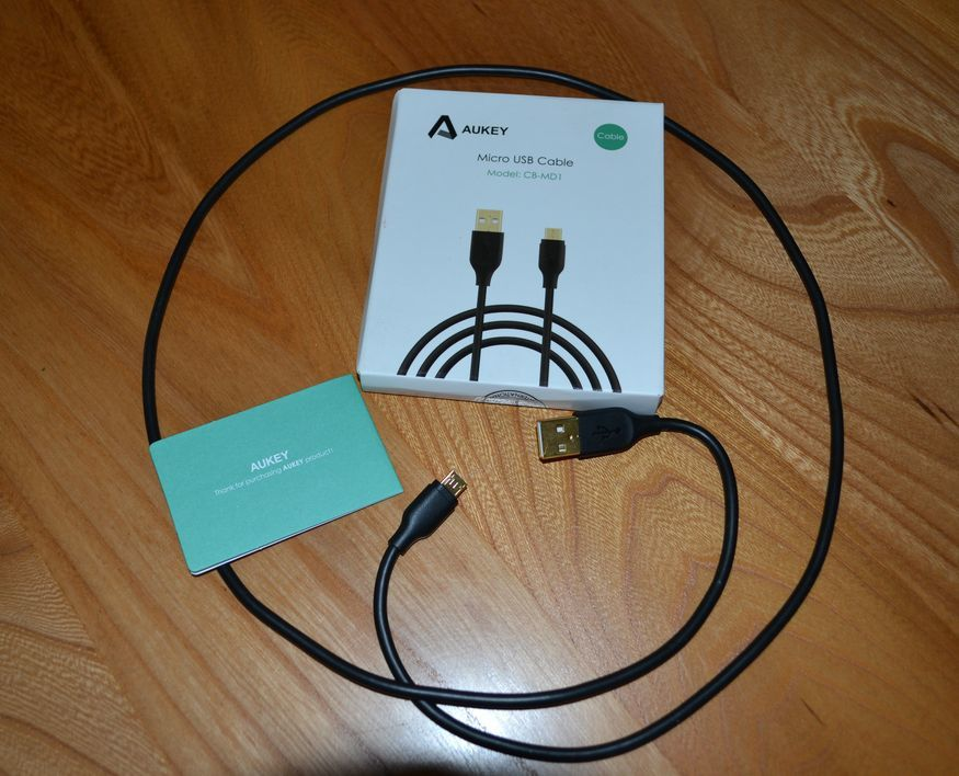 CABLE MICRO USB AUKEY CB-MD1 DISTRIBUE PAR TIANYUE DAZZLING