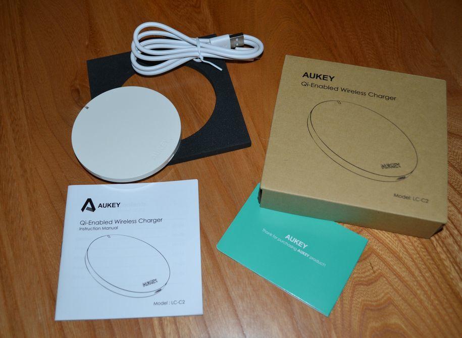 Chargeur inductif AUKEY LC-C2 distribué par Tianyue Dazzling