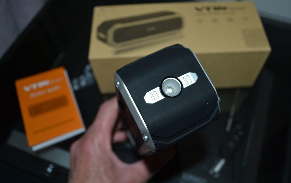 La VTIN ROCKER , Une enceinte Bluetooth pleine de ressources !