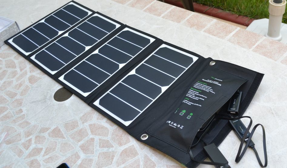 CHARGEUR SOLAIRE RAVPOWER RP-PC005