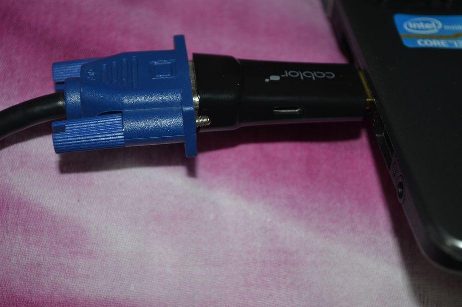 CABLOR DISTRIBUE PAR VICTSING , l'adaptateur facile HDMI - VGA