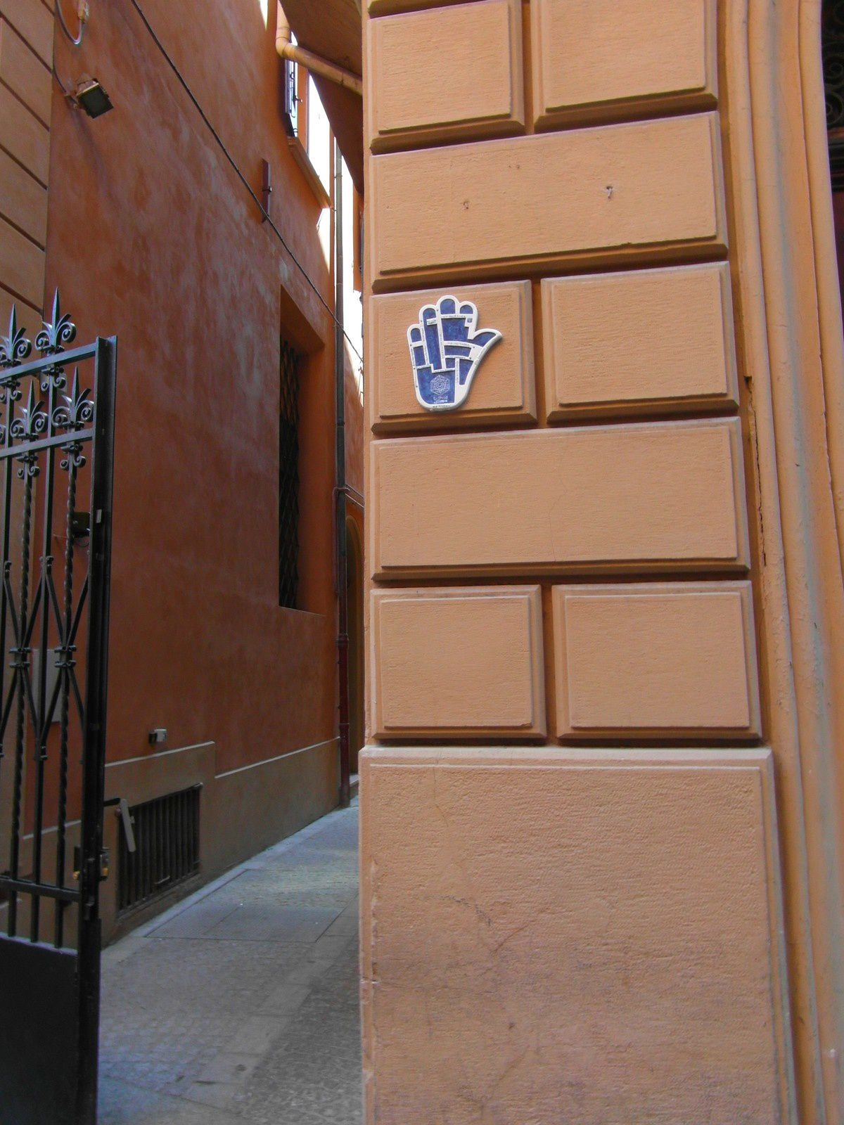 Ruelle du Ghetto Ebraico de Bologne