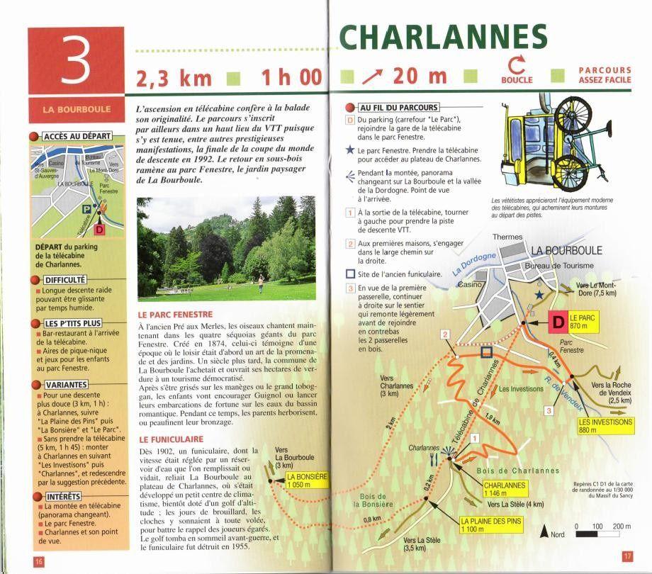 Itinéraire proposé par l'office de tourisme