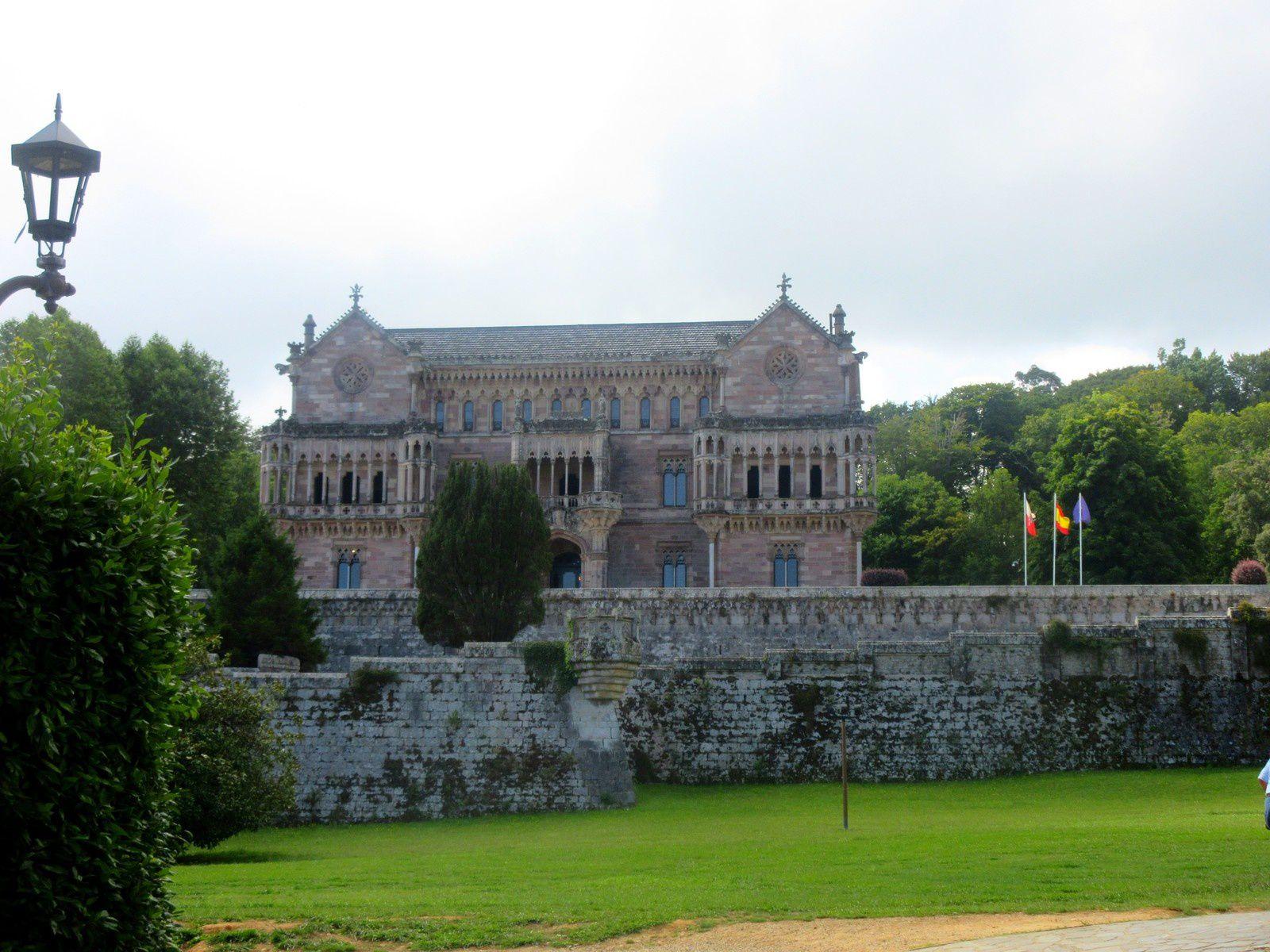 Le palais de Sobrellano