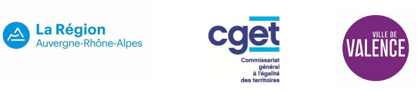 Cette première étape a pu être réalisée grâce au soutien des partenaires du Contrat de Ville (10 000 € de la part de la Région Auvergne-Rhône-Alpes)