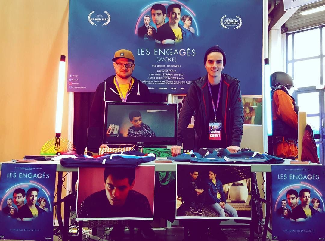 FFW 2017 : trois prix (acteur, scénario et meilleure série) pour Les Engagés !