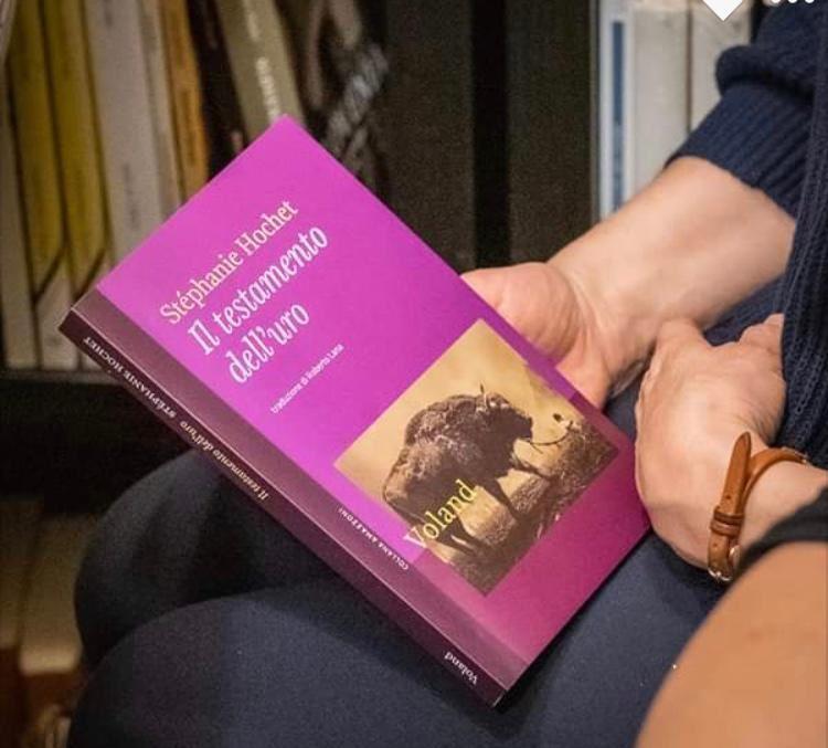 Tour d'Italie pour Il Testamento dell' uro, L'Animal et son biographe