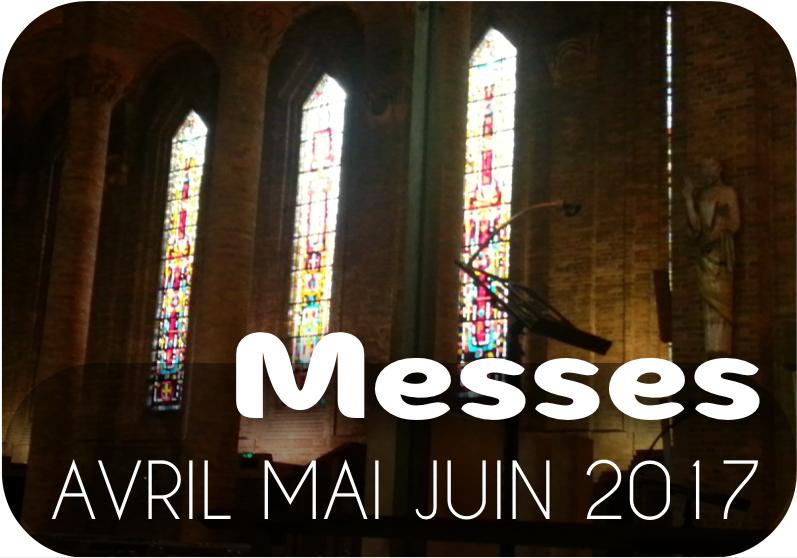 MESSES Avril - Mai - Juin