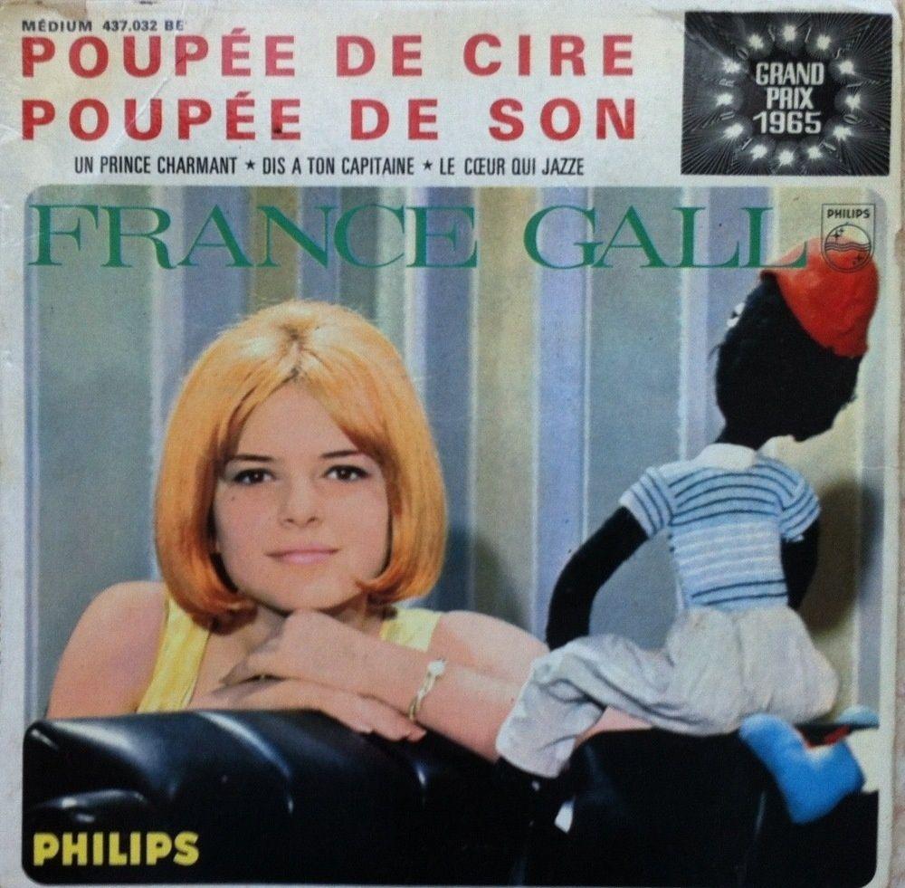 """NOUS L'APPELLERONS TOUJOURS """"FRANCE""""...  GALL ...AVEC LES TITRES DE SES CHANSONS..."""
