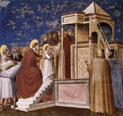 Présentation de la Vierge au Temple, Giotto