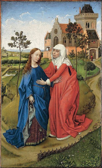Visitation, Rogier van der Weyden