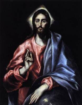 Jésus Christ Sauveur, Museo de El Greco, Toledo
