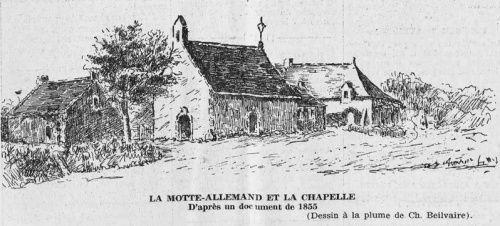 Chapelle de la Motte Allemand