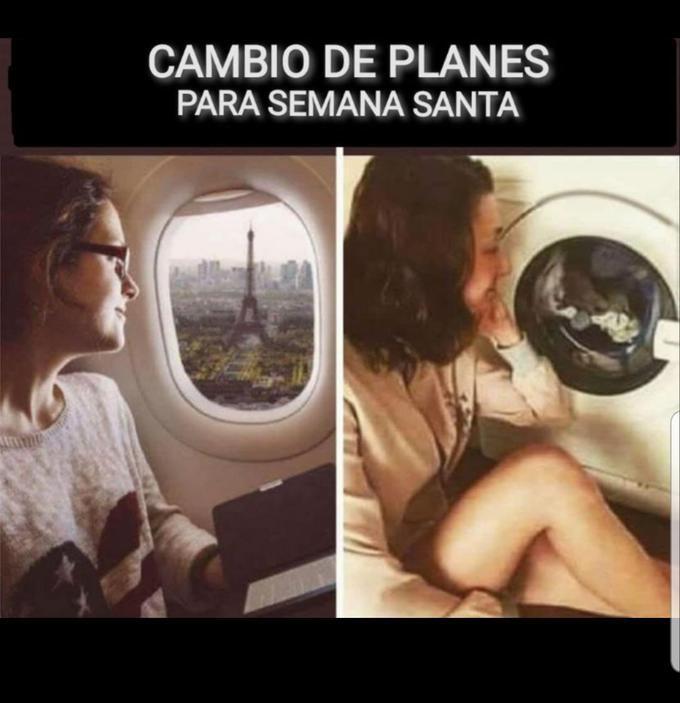 La ventanilla (del avión o de la lavadora)