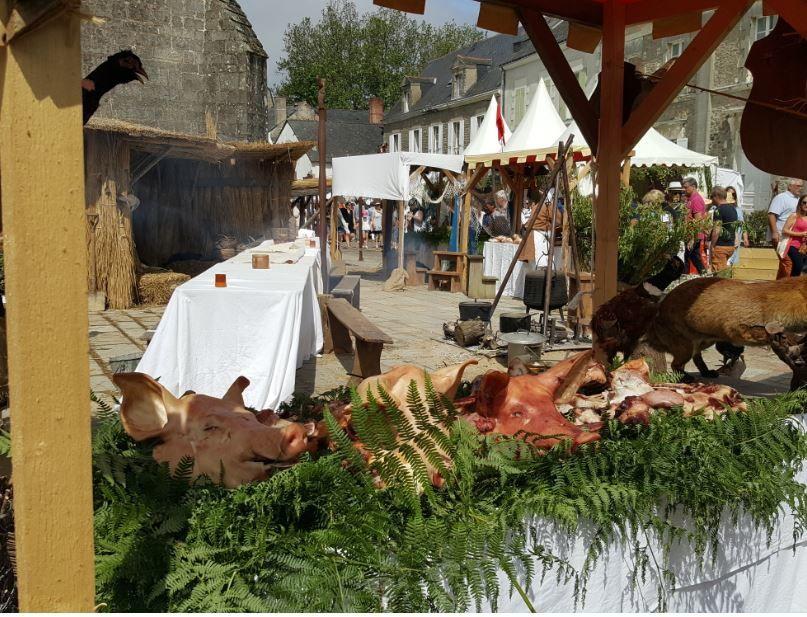 20 ème édition de la fête médiévale de GUERANDE.