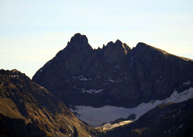 On change de massif ! Le Grand Pic de Belledonne et la croix de Belledonne