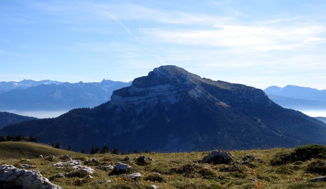 Le Chamechaude, plus haut sommet du massif de la Chartreuse