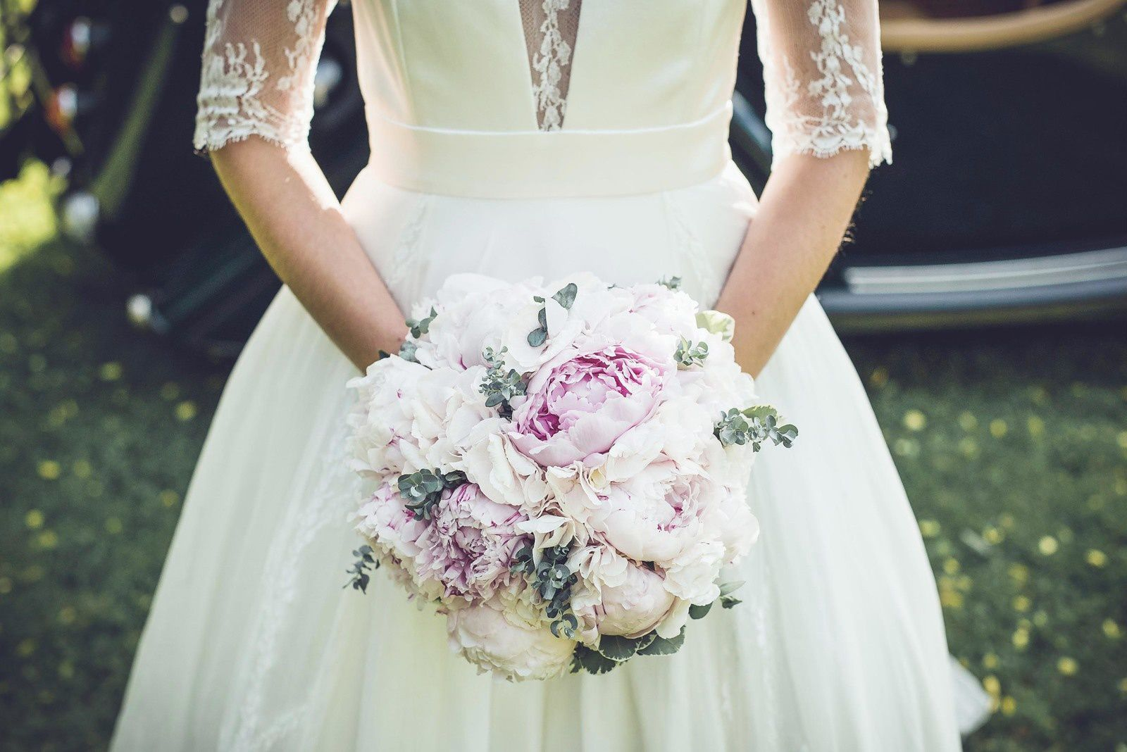 Photo du bouquet de la mariée