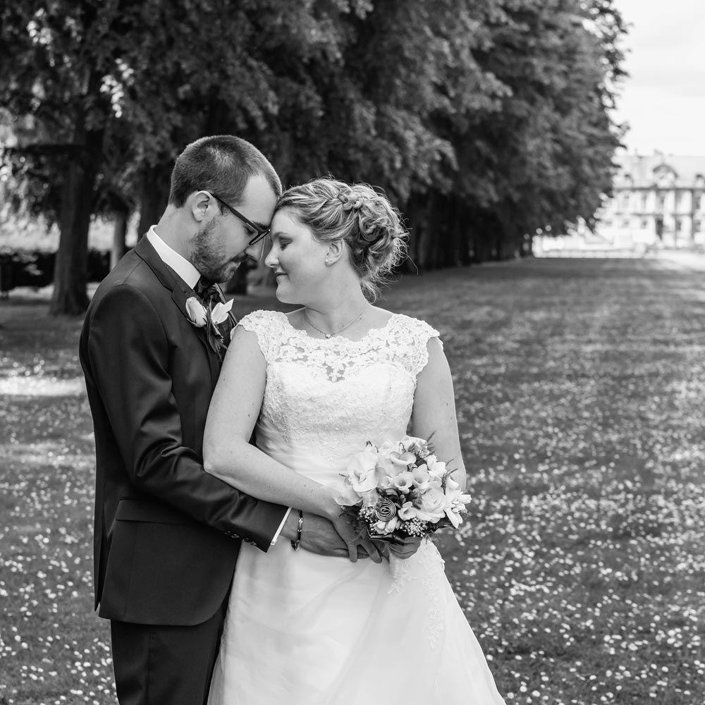 Beaucoup d'émotion sur cette jolie photo de mariés prise par yann lecomte