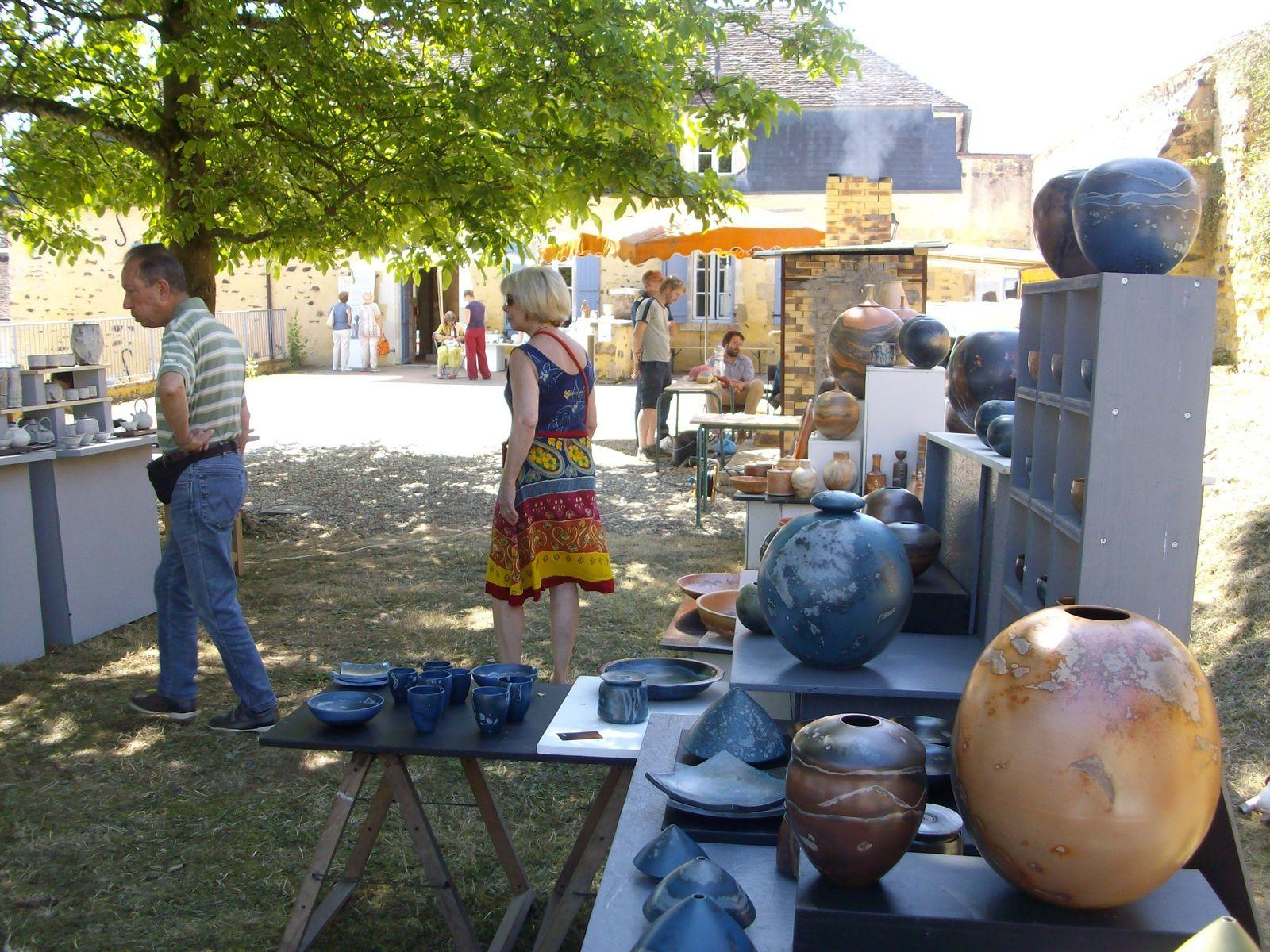 Festival de céramique 2021   le Couvent de Treigny (89)