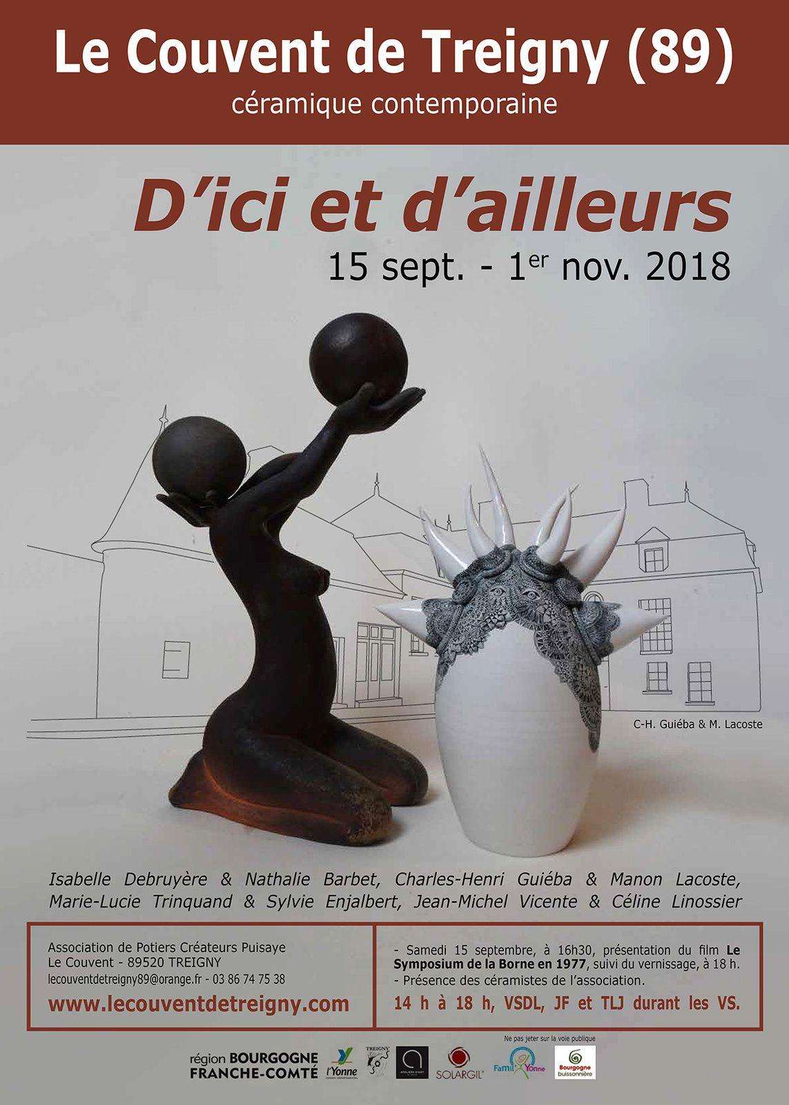 2018, exposition d'automne