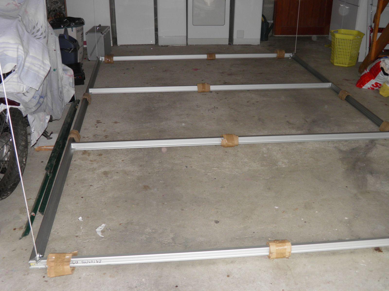 Comment Suspendre Un Plateau Au Plafond fabrication du plateau escamotable au plafond. (3) - mon