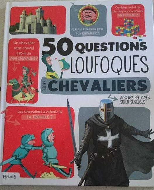 Dans ma Bibliothèque #28 : 50 questions loufoques sur les chevaliers