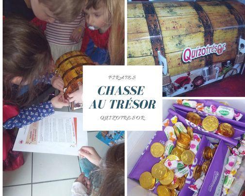 Chasse au trésor enfant : une version pirates pour les moins de 5 ans !