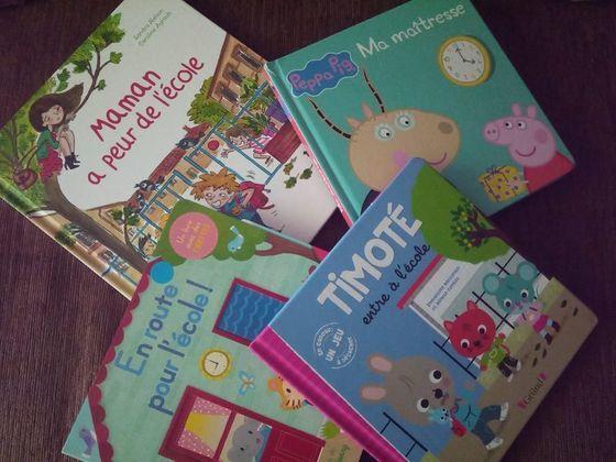Peur de l'école : 5 livres pour lutter contre l'angoisse de la maternelle