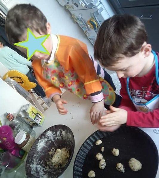 Recette de cookies maison presque vegan