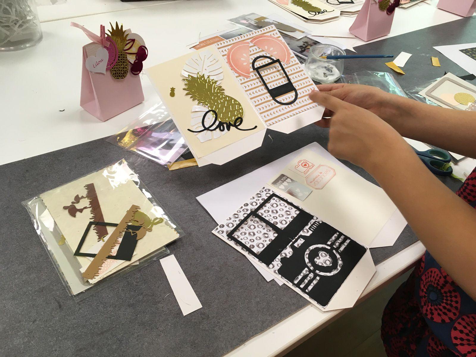 Ateliers anniversaires créatifs enfants et ados
