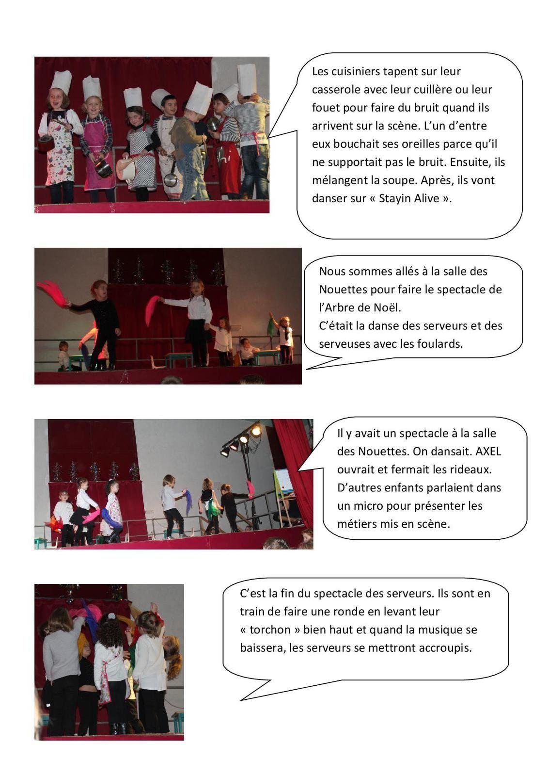 L'Arbre de Noël raconté par les élèves de maternelle de La Chapelle.