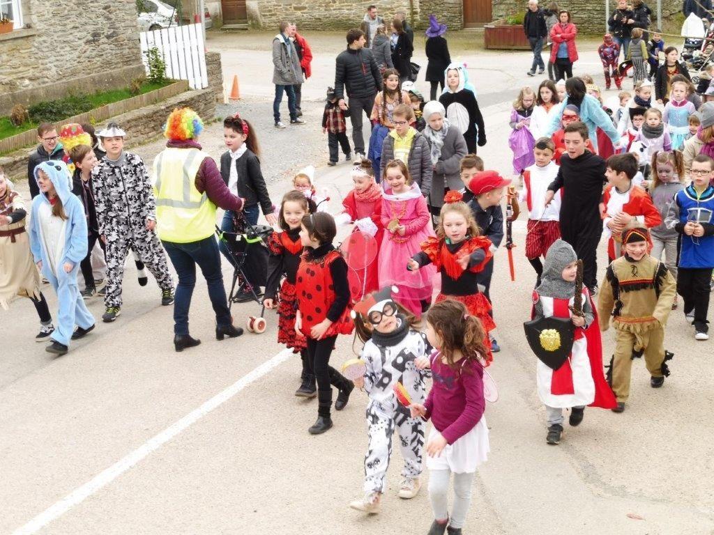 Le carnaval et la fête du partage en photos