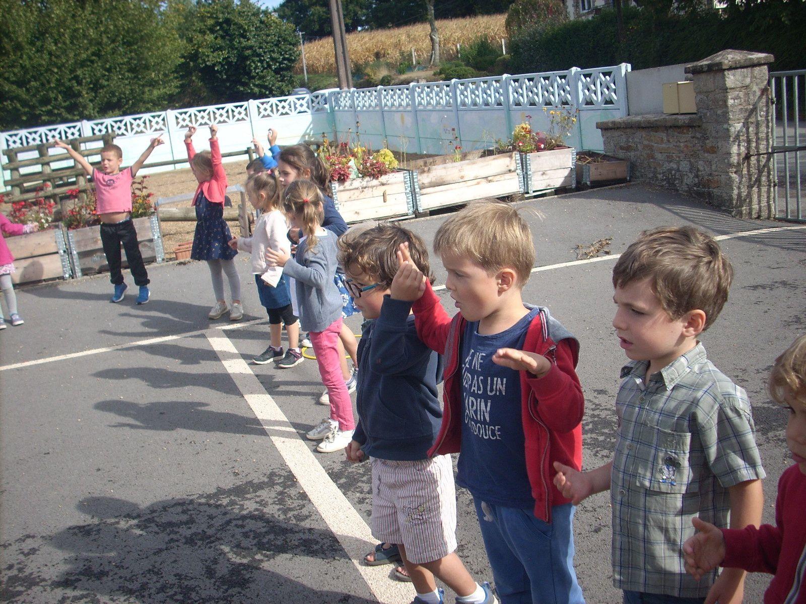 La rentrée à l'école de Saint-Abraham