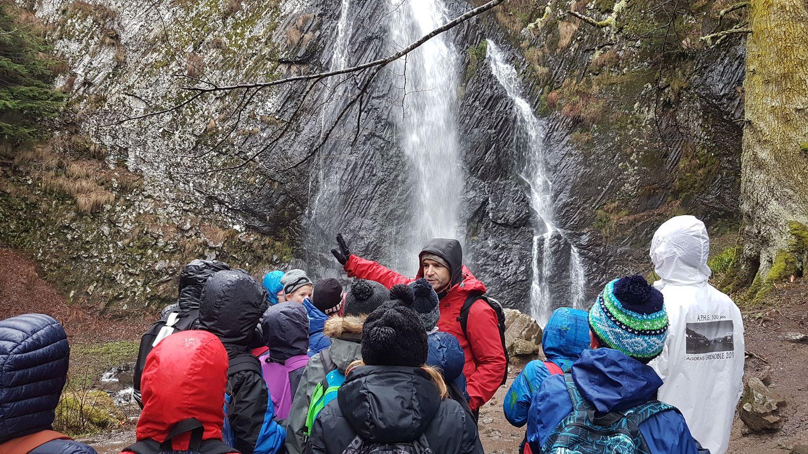 Le sentier des cascades et soirée contes et légendes