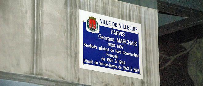 Le parvis Georges Marchais à Villejuif (94) doit rester Georges Marchais