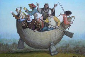 "Benoît Hamon: ""Oh mon bateau oh oh oh..."" (air bien connu)"