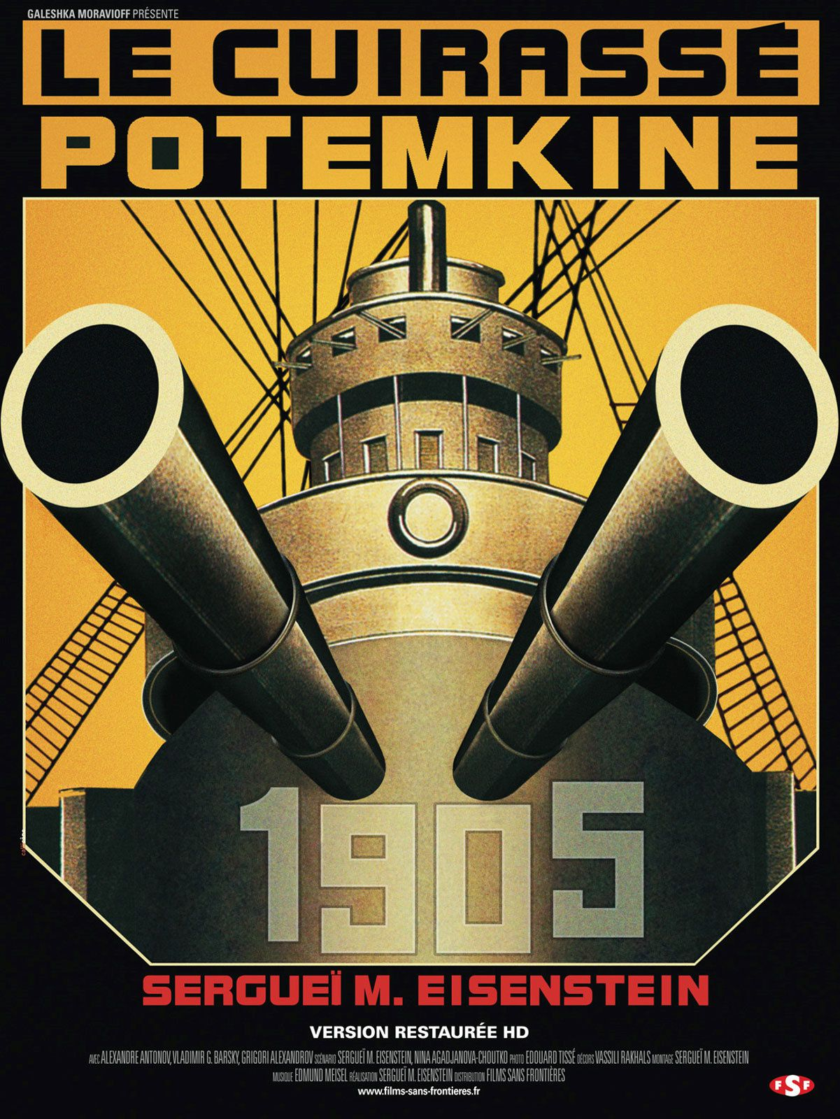 Ce soir, j'aime Potemkine... Pardon Poutou