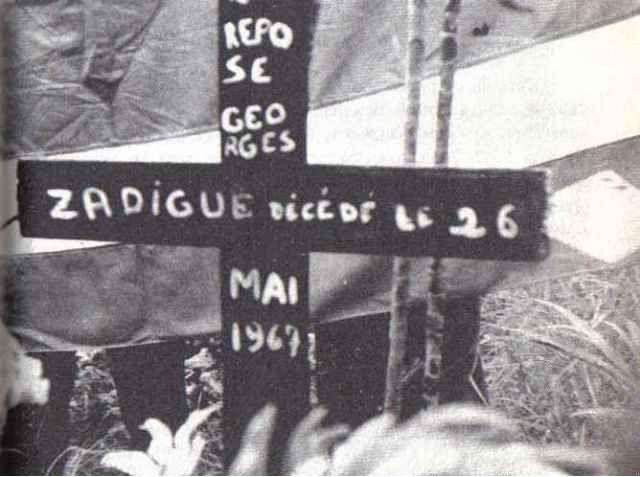 La Guadeloupe assassinée en mai 1967