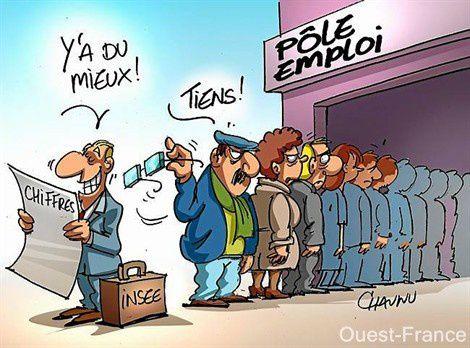 Juillet: chômage en hausse et la précarité aussi