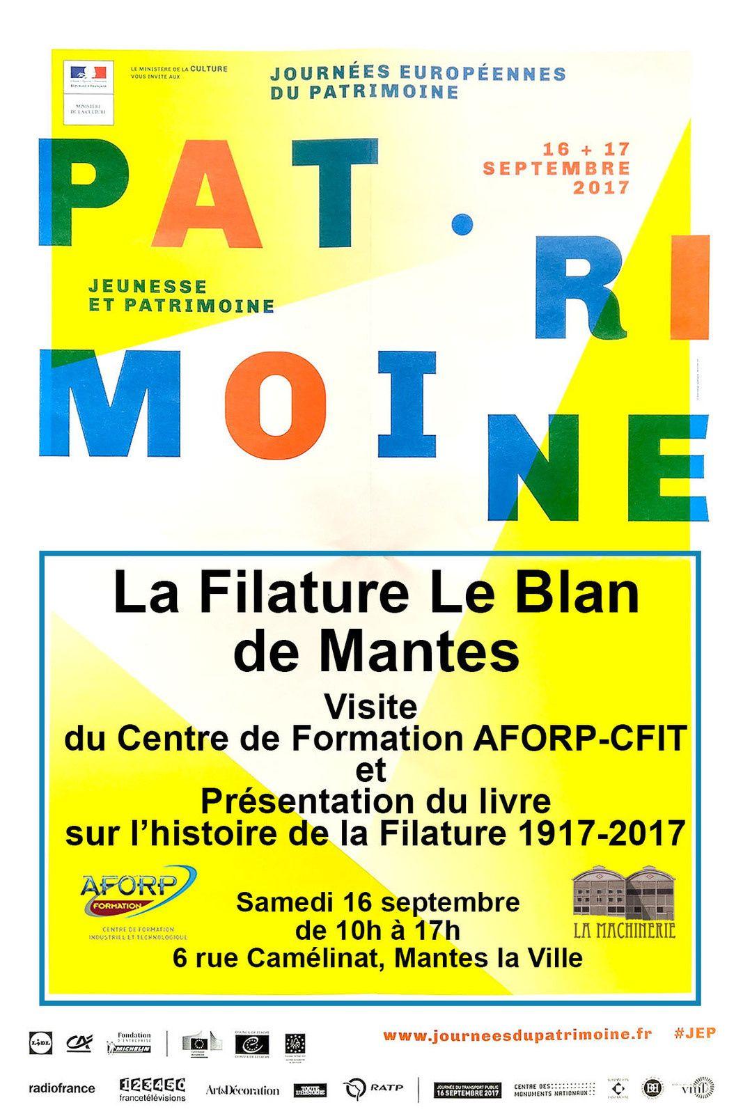 La filature Le Blan aux Journées du Patrimoine à Mantes-la-Ville