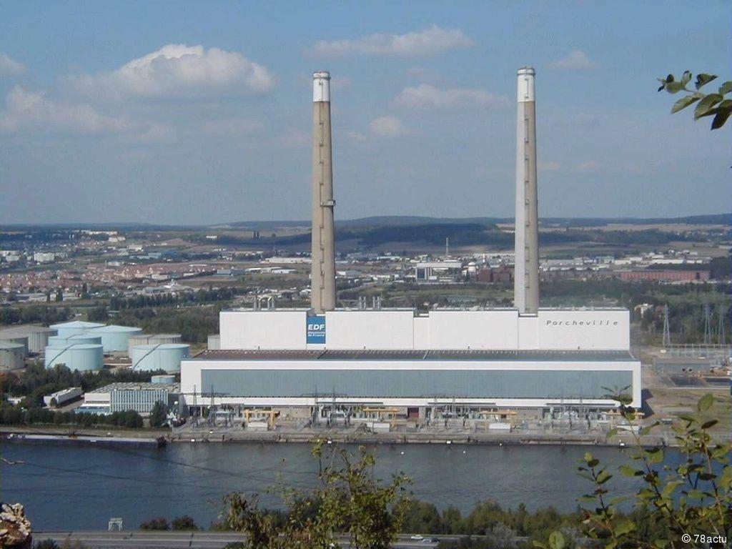 Clap de fin pour la centrale EDF de Porcheville (78)