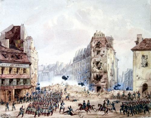 23 février 1848: la révolution du peuple oubliée et écrasée