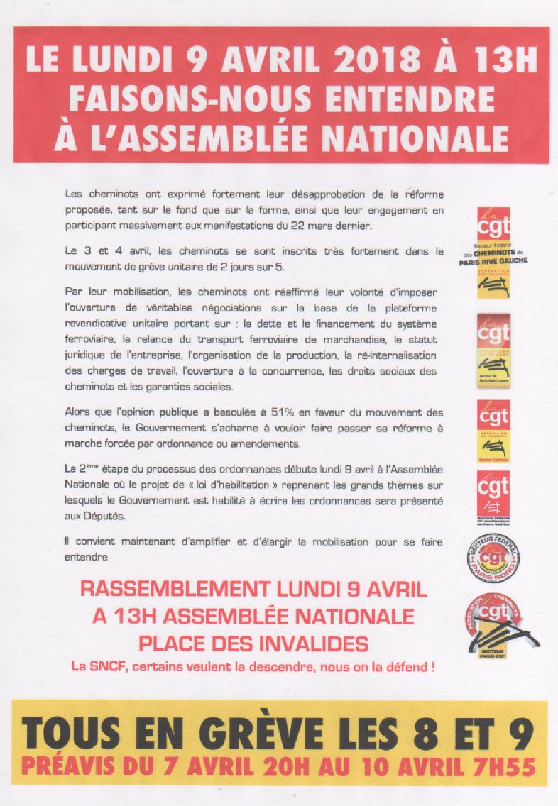 Pour la rail français public, la grève continue