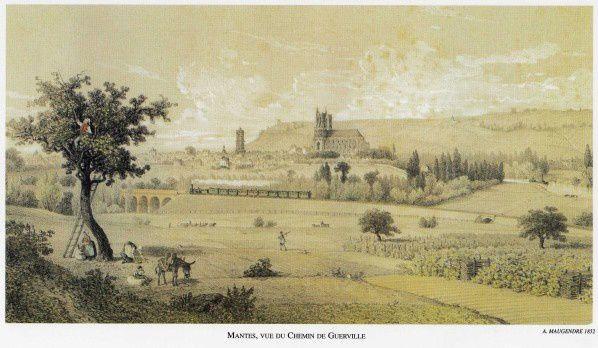3 mai 1843: le chemin de fer de Paris à Rouen