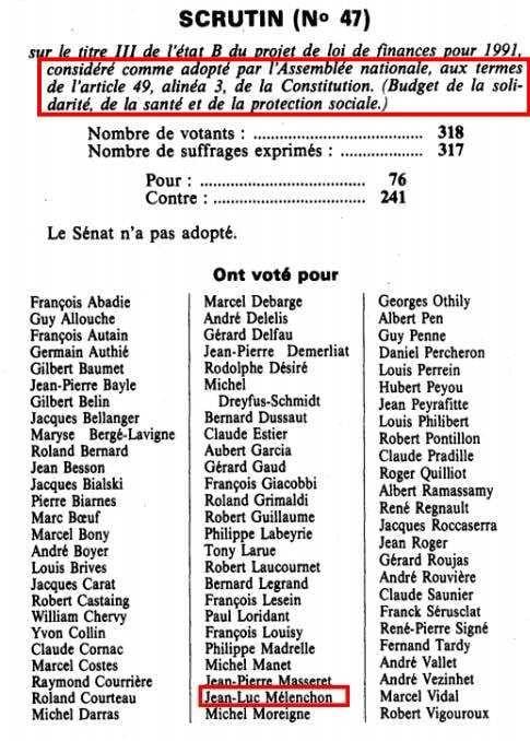 La CSG, Michel Rocard... et Jean-Luc Mélenchon